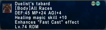 Duelist's Tabard