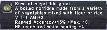 Vegetable Gruel