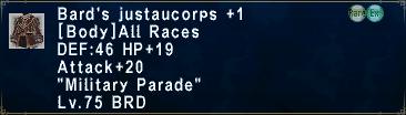 Bard's Justaucorps +1