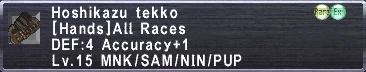 Hoshikazu Tekko