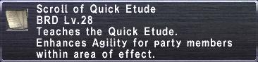 Quick Etude