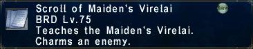 Maiden's Virelai