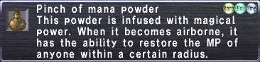 Mana Powder