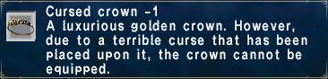 Cursed Crown -1