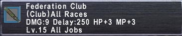 Federation Club