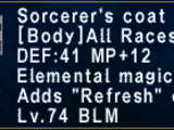 Sorcerer's Coat