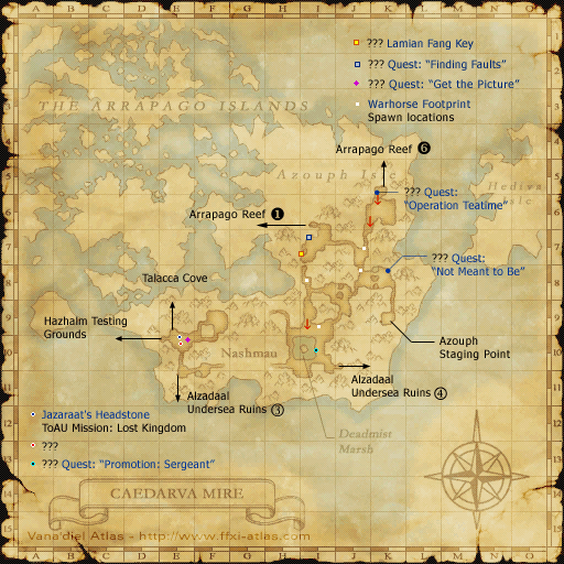 Azouph Isle Staging Point