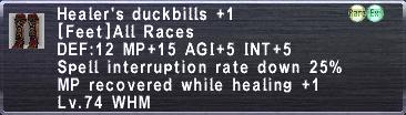 Healer's Duckbills +1