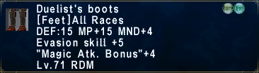 Duelist's Boots