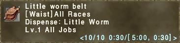 Little Worm Belt