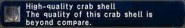 High Quality Crab Shell