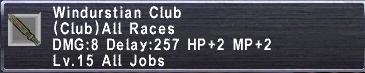 Windurstian Club