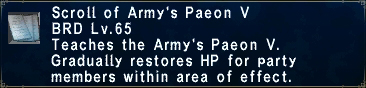 Army's Paeon V