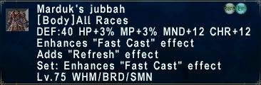 Marduk's Jubbah