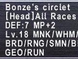 Bonze's Circlet
