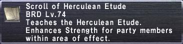 Herculean Etude