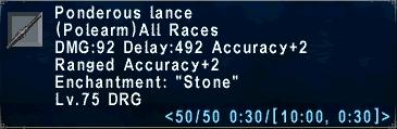 Ponderous Lance