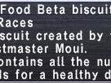 Pet Food Beta Biscuit