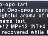 Opo-opo Tart