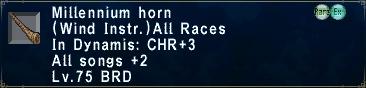 Millennium Horn