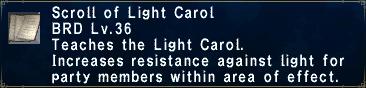 Light Carol