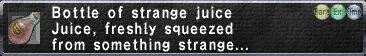 Strange Juice