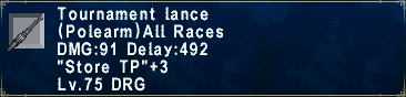 Tournament Lance