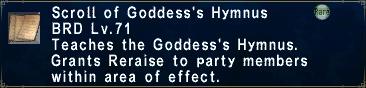 Goddess's Hymnus
