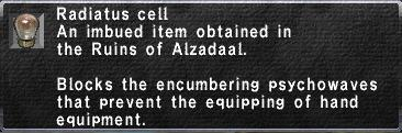 Radiatus Cell