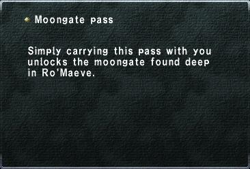Moongate Pass
