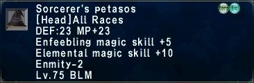 Sorcerer's Petasos