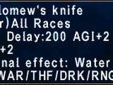 Bartholomew's Knife