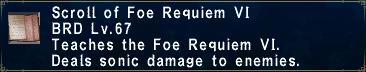 Foe Requiem VI
