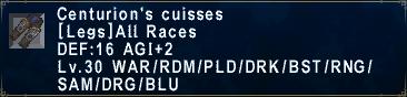 Centurion's Cuisses