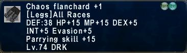 Chaos Flanchard Plus 1