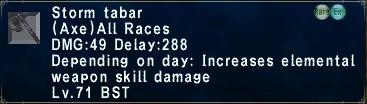 Storm Tabar