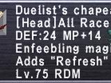 Duelist's Chapeau
