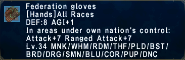 Federation Gloves