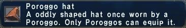 Poroggo Hat