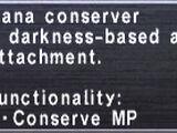 Mana Conserver