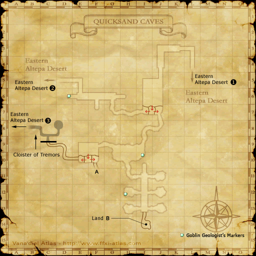 Quicksand Caves