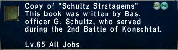 """Copy of """"Schultz Stratagems"""""""