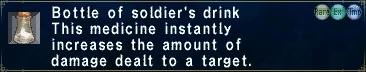 Soldier's Drink