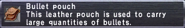 Bullet Pouch