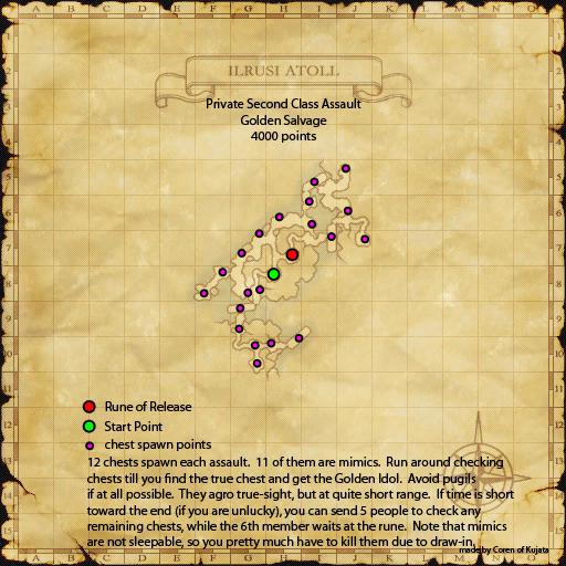 Assault Mission - Golden Salvage