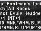Royal Footman's Tunic