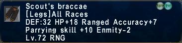 Scout's Braccae