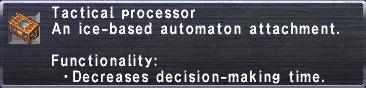 Tactical Processor