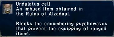 Undulatus Cell