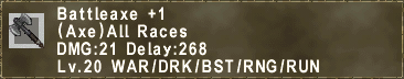 Battleaxe +1